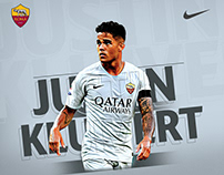 AS Roma 2018-19 Kits Graphics
