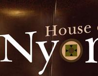 Nyonya restaurant- branding