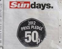 Working @ ENGINE/WCRS - The Sun 50p Price Pledge