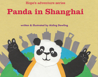 Panda in Shanghai - Children's book