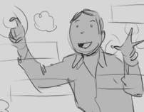 Commercial storyboard sample 1