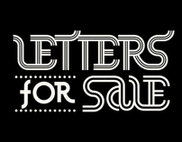 Letters for sale