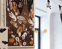 Halloween Coffee Bean 2016