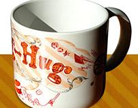 Illustration for Hug-Mug exihibition