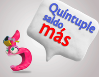 TIGO - Quintuple Saldo (El Salvador)