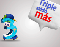 TIGO - Triple Saldo (El Salvador)