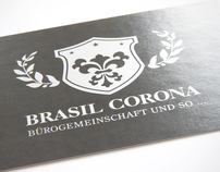 Brasil Corona Corporate Design