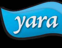 Linha Yara - sobremesas e iogurtes