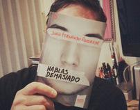 PORTADA HABLAS DEMASIADO