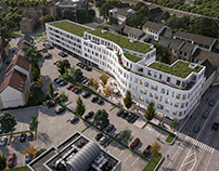 BUSINESS COMPLEX IN MERZIG, GERMANY
