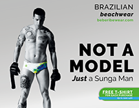 brazilian Beachwear Advertising