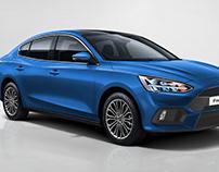 Ford Focus RS 2019 sedan
