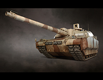 Leclerc Military Tank - UAE