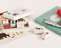 """Forest Friends"" Kids Stationery Range for kikki.K"