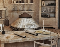 3d reconstruction of Leonardo da Vinci's studio