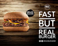 Bruce Burger Brand Identity