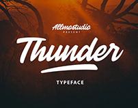 Thunder Font