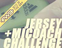 ® ADIDAS miCoach + DFB JERSEY