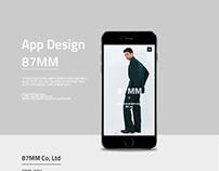 87mm App design