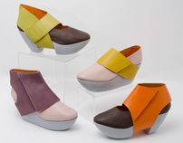 Futuromantic shoes