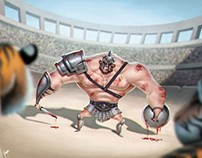Gladiator: Character Design