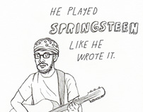 The Daily Stranger - a year of drawing strangers