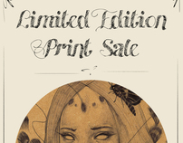Limited Edition Print Sale Ad