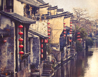 XiTang, a water village in China