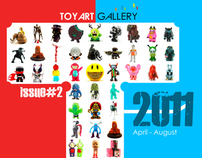 (2011) GRAPHIC [TAG] The Toy Art Gallery Catalog Design