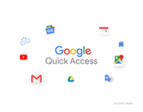 Google-Quick Access Concept UI