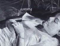Untitled (Chalk Portrait)