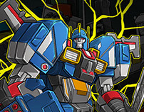 Comics: Fansproject Warbot WB007