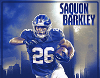 Barkley & Mayfield poster designs for Team Spirit Store