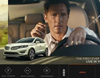 Lincoln Homepage Takeover (KBB, Autotrader)
