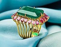 fotografia de jóias