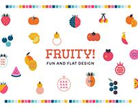 Fruity! Fun and Flat Fruits