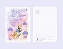 NEW YEARS CARD. HITODE