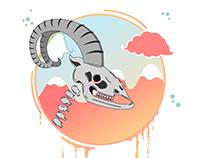 Ibex Skulls