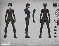 Mezco Catwoman 1:12 High-end action figure