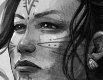 Inuit Mythology Project   Portraits