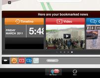 Newsport iPad app