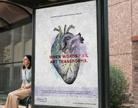 Alzheimer's Art Therapy Campaign