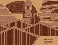 Tucson, Az Landmark Poster
