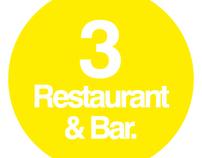 Gráfica de Bares y Restaurantes