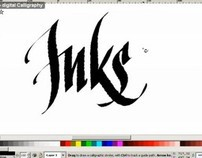 Inkscape calligraphy videos
