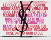 Yves Saint Laurent - Rouge pur Couture