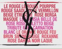 Yves Saint Laurent - Rouge pur Couture