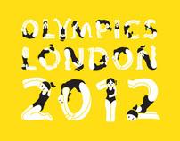 Olympics London 2012 Illustrations