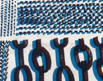//Textile and Fabric Print Design  at Chelsea School//