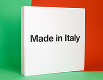 Made in Italy - visual identity